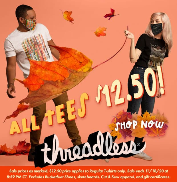 Threadless $12.50 T-Shirts Square
