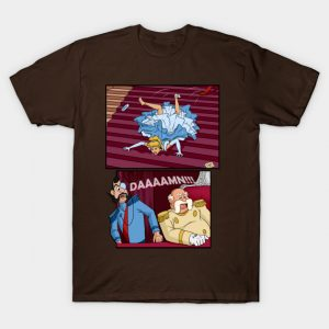 Tripping at the Ball Cinderella T-Shirt