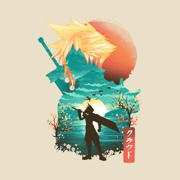 Ukiyo e Soldier
