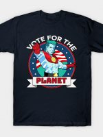 VOTE FOR THE PLANET T-Shirt