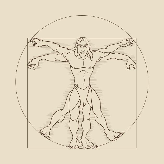 Vitruvian son of man