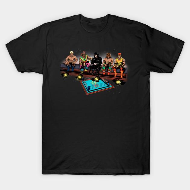 Wrestlers Break T-Shirt