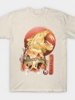 Yellow Ranger Ukiyo e T-Shirt