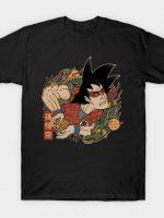goku ukiyo-e T-Shirt