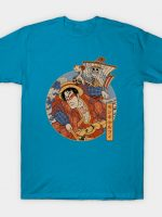 luffy ukiyo-e T-Shirt