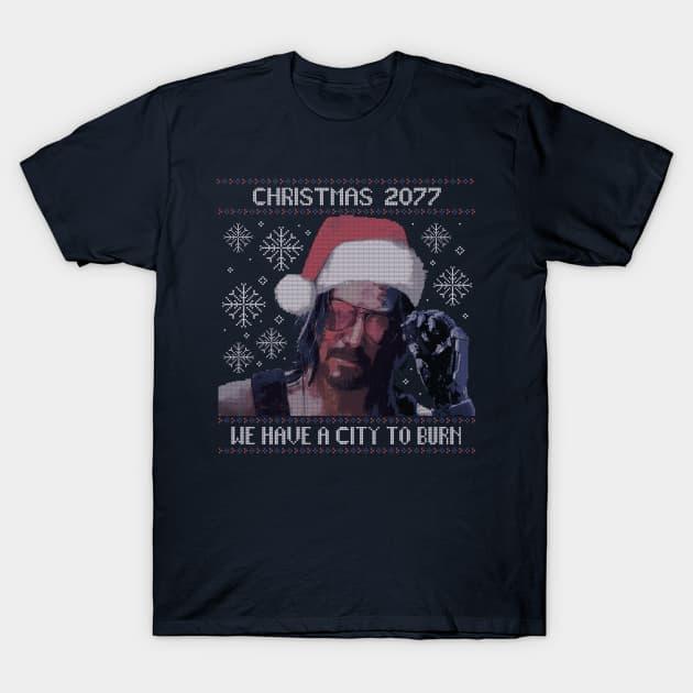 Christmas 2077 T-Shirt