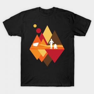 Desert View - Star Wars T-Shirt