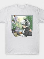 Gaming and Chill: Automata T-Shirt