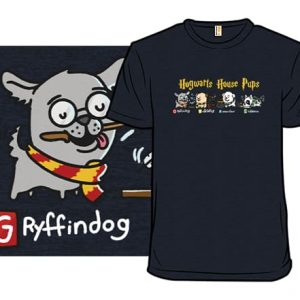 Hogwarts House Pups T-Shirt