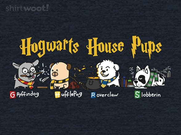 Hogwarts House Pups