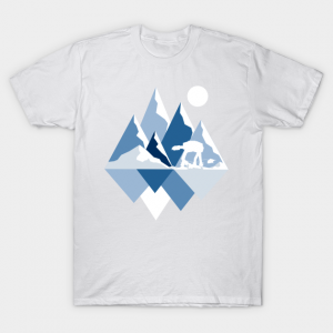 Ice Planet View - Star Wars T-Shirt