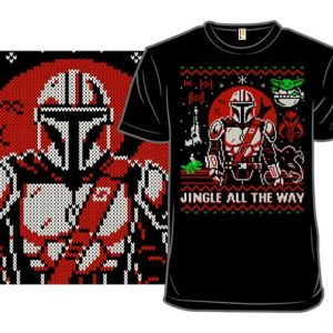 Mandalorian Ugly Christmas Sweater T-Shirt