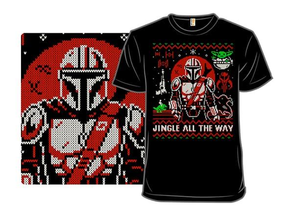 Mandalorian Ugly Christmas Sweater T-Shirt