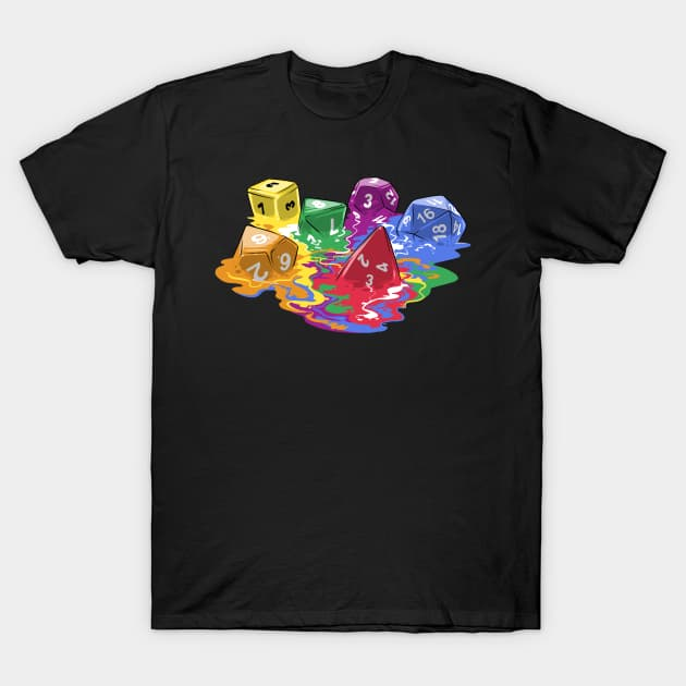 Melting Dice T-Shirt