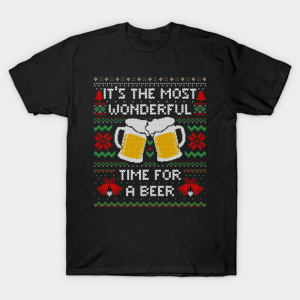 Most Wonderful Time For a Beer T-Shirt