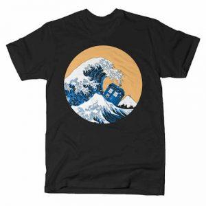 POLICE BOX WAVE T-Shirt