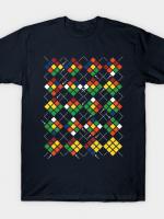 Rubiks Clues Argyle T-Shirt