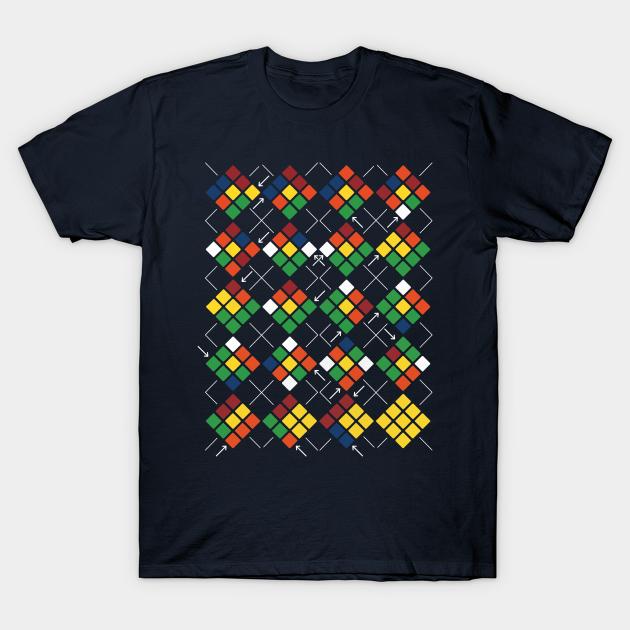 Rubik's Cube Argyle T-Shirt