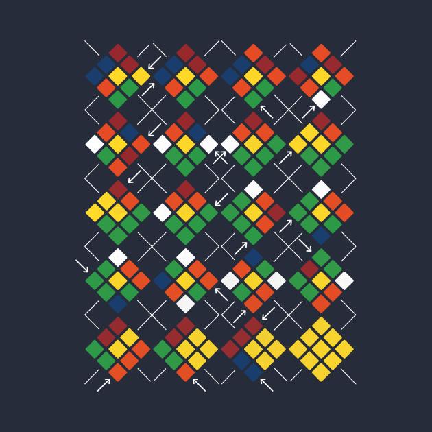 Rubik's Cube Argyle