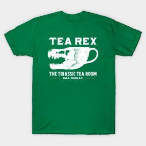 Tea Rex [Alt] - Jurassic Park T-Shirt
