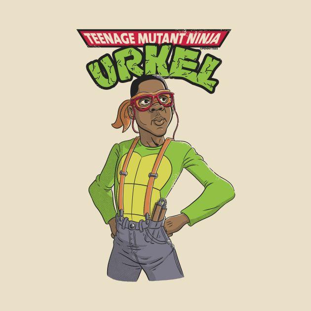 Teenage Mutant Ninja Urkel