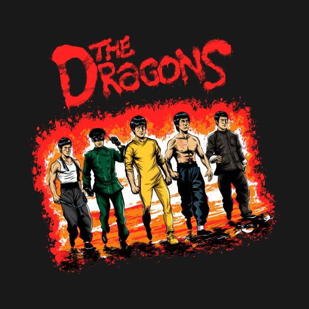 The Dragons - Bruce Lee