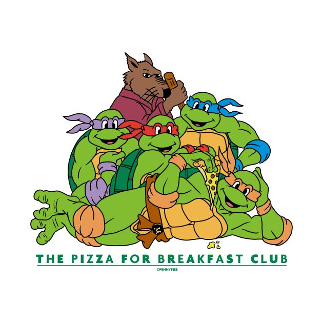 The Pizza For Breakfast Club