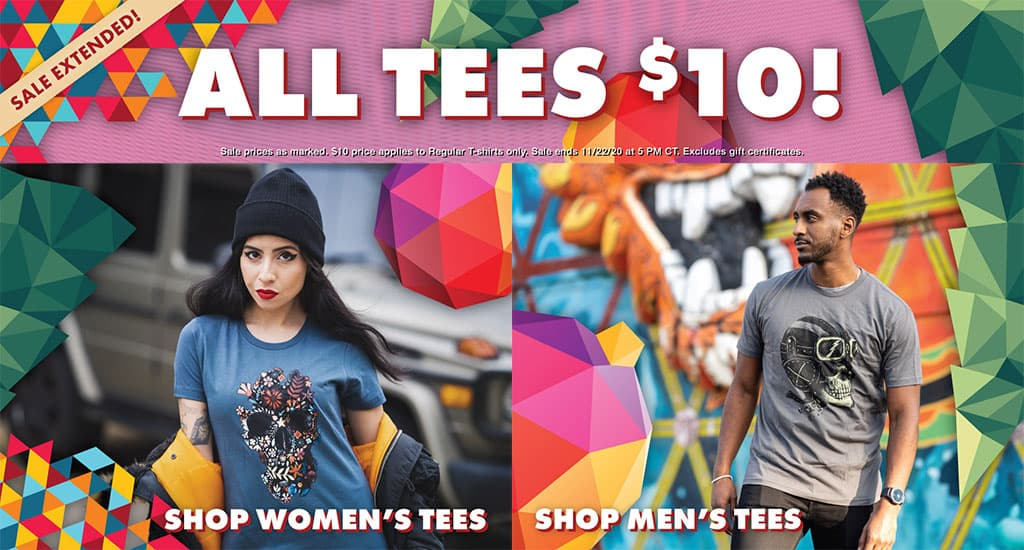 Threadless $10 T-Shirts