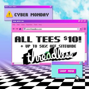 Threadless Cyber Monday Square