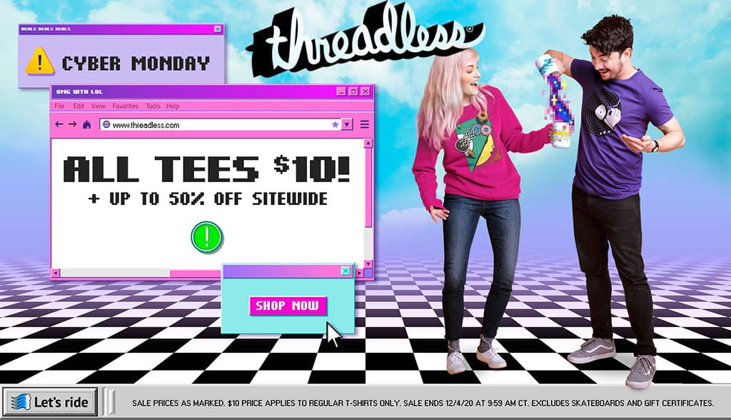 Threadless Cyber Monday