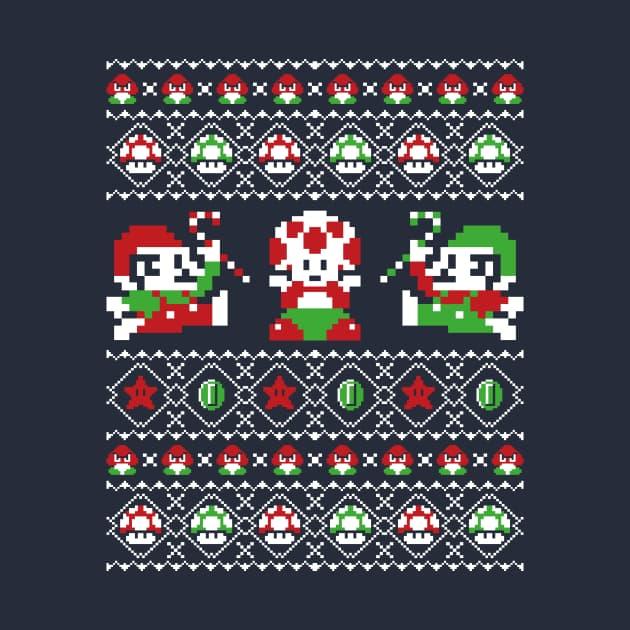 Ugly Christmas Sweater Bros