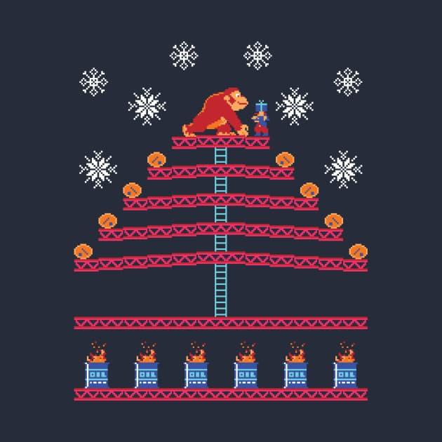 Ugly Christmas Sweater - Kongmas Tree