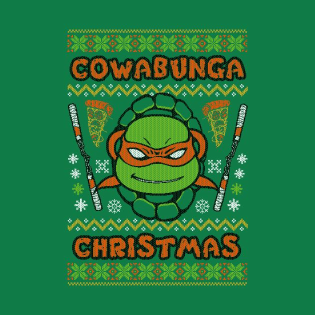 A Very Michaelangelo Christmas