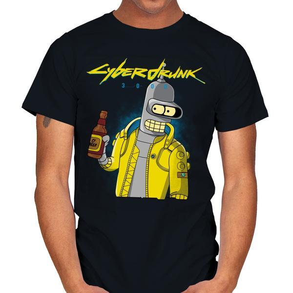 CYBERDRUNK Bender T-Shirt