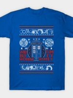Christmas through Time and Space T-Shirt
