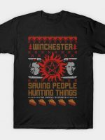 Christmas with The Winchesters T-Shirt