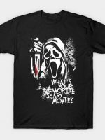 Favorite Scary Movie T-Shirt