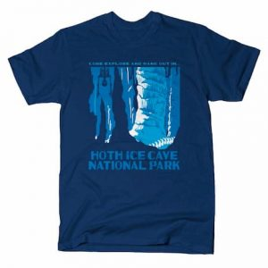 HOTH ICE CAVE NATIONAL PARK T-Shirt