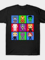 Mighty heroes pop T-Shirt