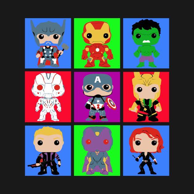 Mighty heroes pop