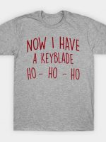 Now i have a Keyblade T-Shirt