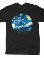 STARRY NIGHT POLICE BOX T-Shirt