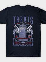 Tardis Garage T-Shirt