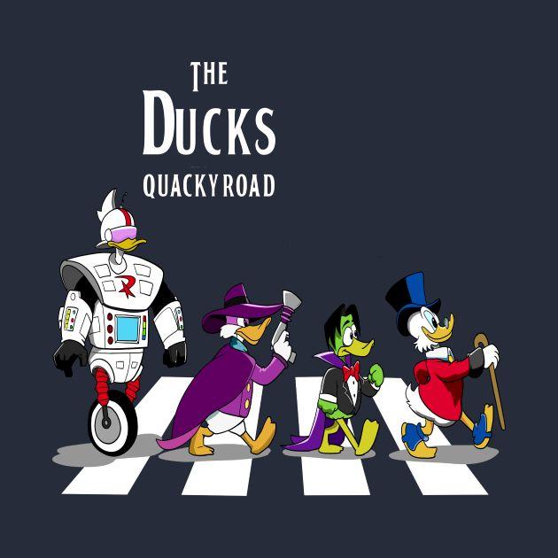 The Ducks quacky road