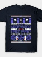 Timey Wimey Ugly Sweater T-Shirt