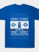 Wibbly Wobbly Ugly Sweater T-Shirt