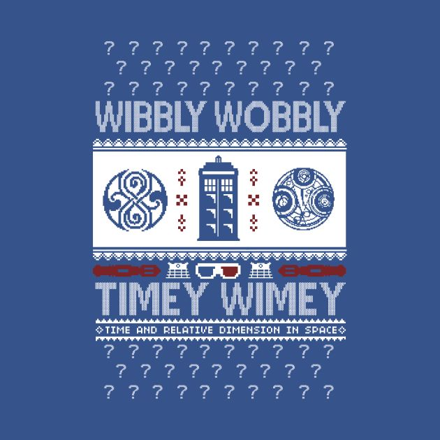 Wibbly Wobbly Ugly Sweater