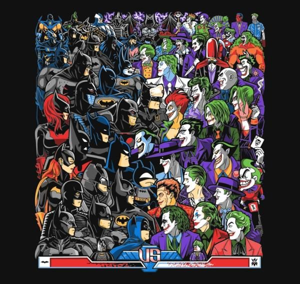 BATS VS CLOWNS