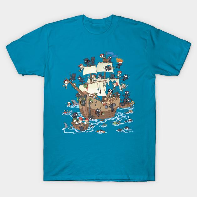 Ninja Attack! T-Shirt