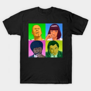 PoPart Fiction - Pulp Fiction T-Shirt